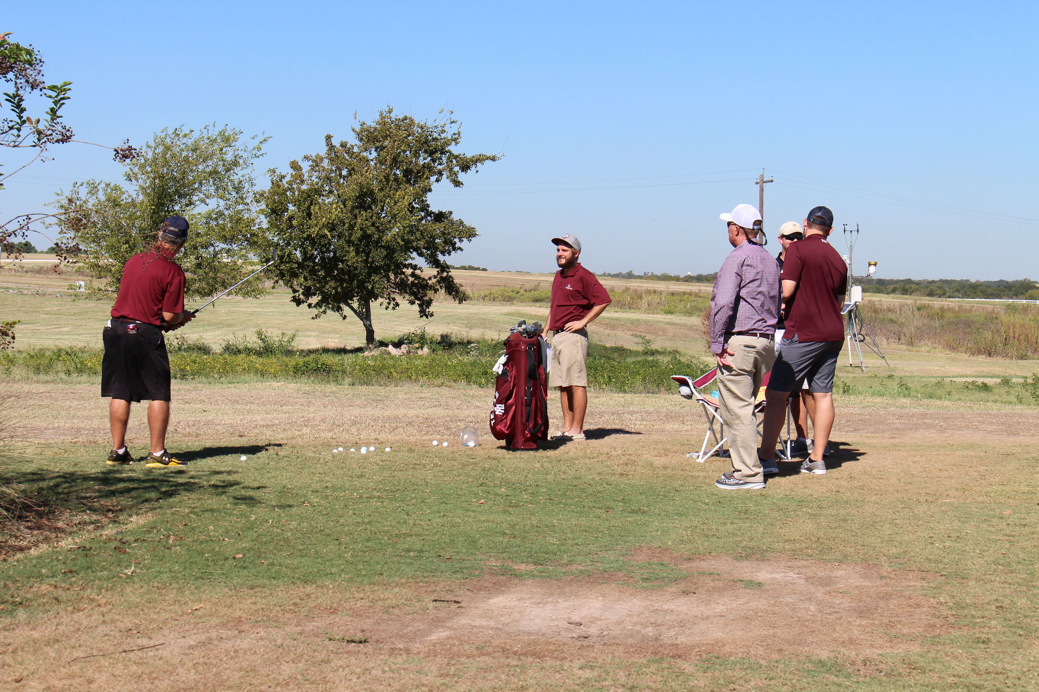 Aggie Turf Students held a closest-to-the-pin contest for attendees